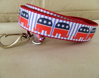 Republican Party Elephant Dog Leash