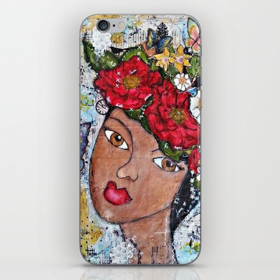 Iphone & Samsung Cases: Mixed media art