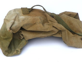 Old Military Duffle Bag