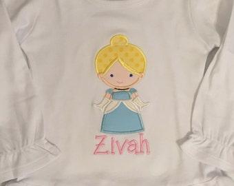 Cutie Princess as Cinderella Shirt or Baby Bodysuit