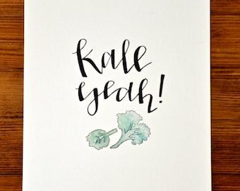 Kale Yeah | Kitchen Collection Digital Print (8 x10)