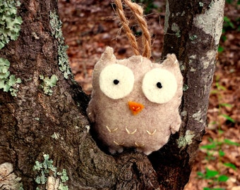 Felt Mini Owl Ornament