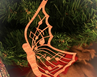 Musical Butterfly Ornament