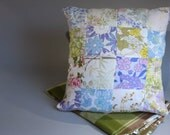 Retro Quilted Cushion Cover