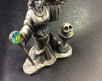 The scorceress of light,pewter figure