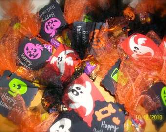Halloween Tulle Party Favors