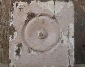 Vintage Corner Moulding Block