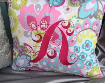 Decorative Foral Pillow