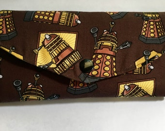 Doctor Who Dalek Wallet--free shipping!