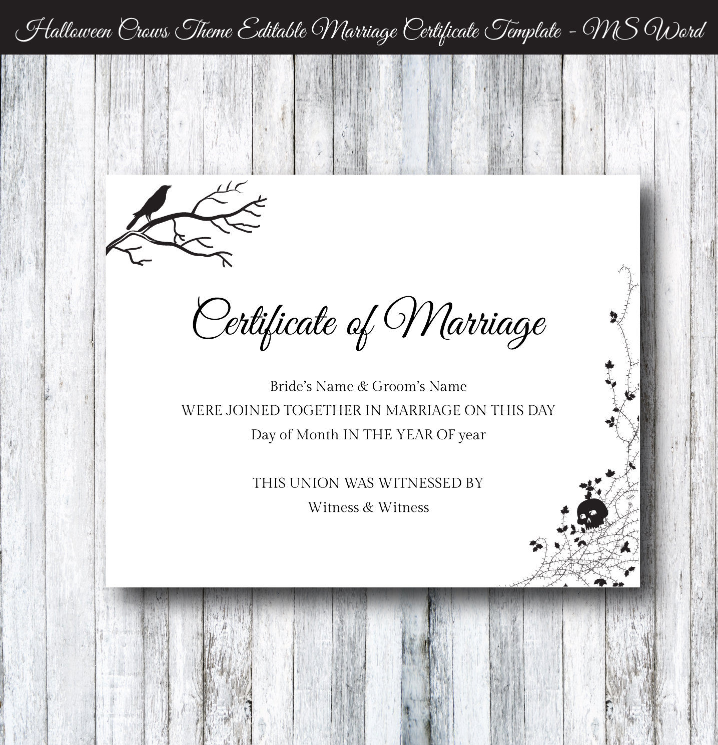 Certificate Templates For Halloween Choice Image Certificate Design