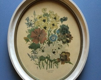 Beautiful Framed Floral Print