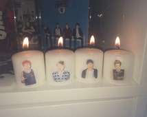 5 Seconds of Summer Candle