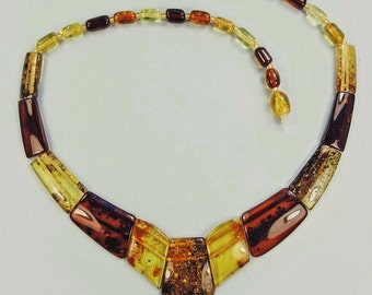 Original genuine Baltic amber  choker.