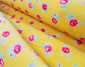 Flower Sugar Spring 2015 - Small Roses(Yellow Background) - Lecien - Japan, Inc