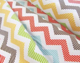 School Days - Chevron(Cream) - Zoe Pearn - Riley Blake Designs