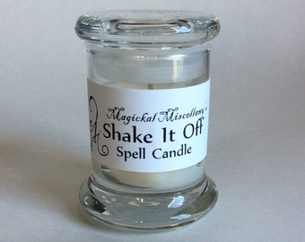 Shake It Off Spell Candle - Banish Negativity