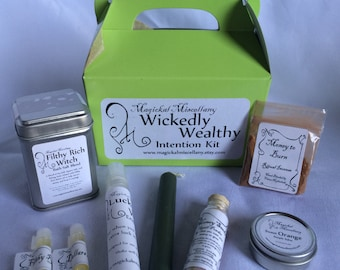 Wickedly Wealthy Intention Kit