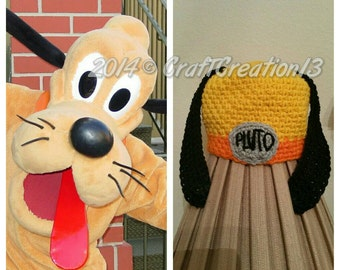 Pluto inspired Hat