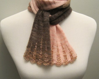 Extra Long Waterfall Scarf