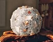 Designer lamp, mosaic light, light ball, flare, decoration, indirect lighting, 16 cm