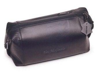 Personalized Leather Dopp Kit - Shaving Kit - Monogrammed Shaving Kit - Gifts for Him - Groomsmen Gifts - Husband Gifts - GC191
