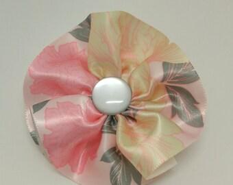 Handmade silk hair bow