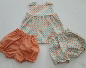Mix & Match dress top with bloomers