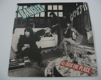 Bangles - All Over The Place - 1984  (Record)