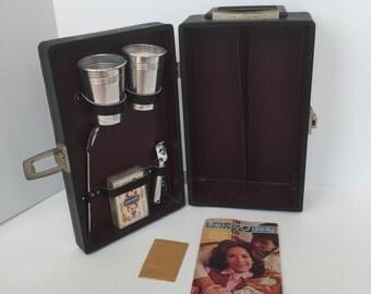 Vintage Travel Bar Case