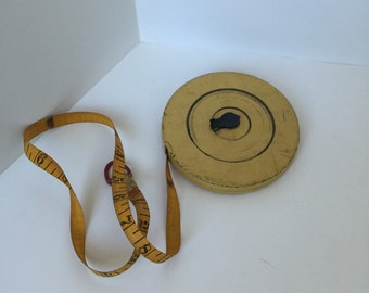 Vintage Industrial Measuring Tape