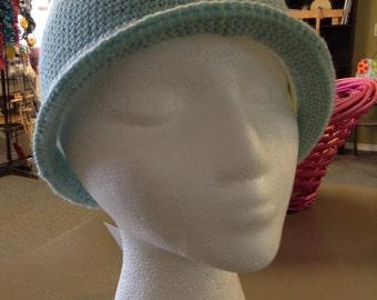 Brimmed Cloche Hat
