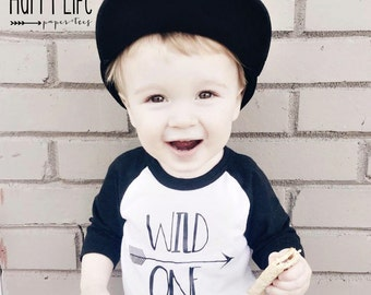 WILD ONE - Wild One Birthday - Wild One Shirt- Wild One Birthday Shirt - Wild One Outfit - First Birthday - 1st Birthday Boy - 1st Birthday