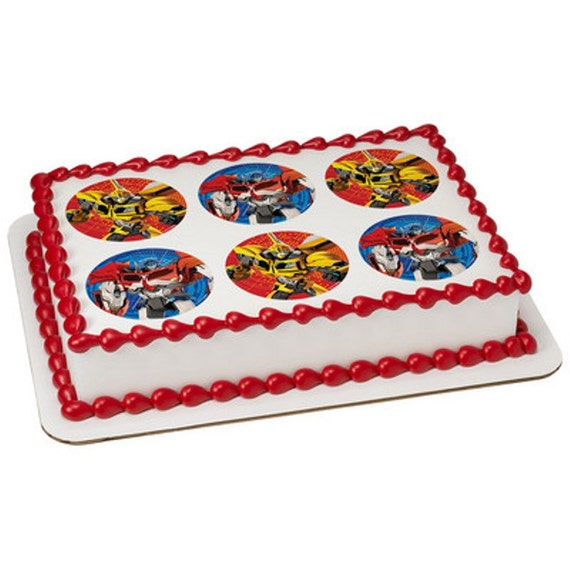 Transformers Licensed Birthday Edible Cake and by ...