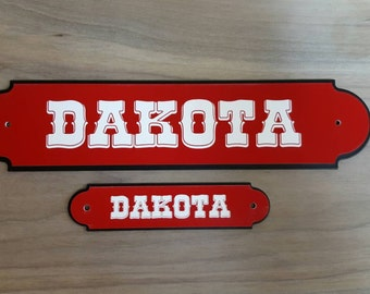 Horse Stall Name Plate  The Classic