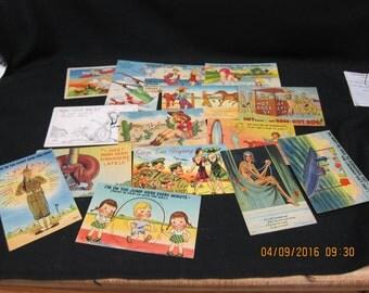 Vintage Cartoon Postcards (15)