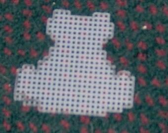 5 pre cut plastic canvas frog