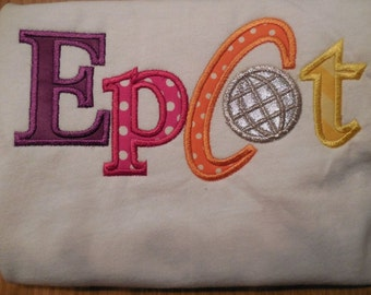 Epcot Logo Disney Vacation