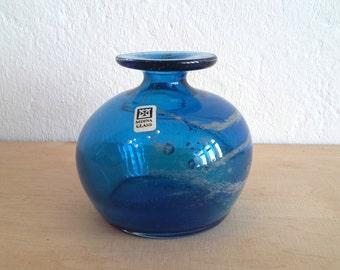 Mdina glass vase ... Malta ... Michael Harris