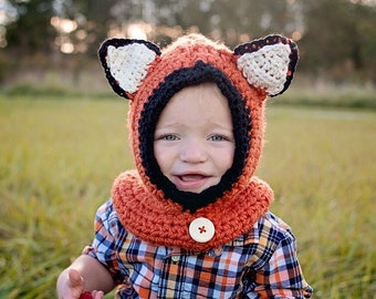 Fox Cowl Hat