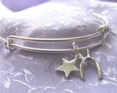 Wish Upon A Star Sterling Silver Bracelet Designed by Diane Kirkup