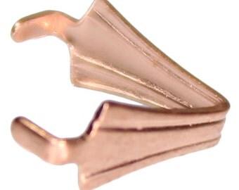 Copper Pinch Bail (Pkg of 50) (910CU-04)