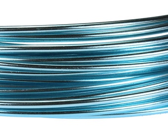 Aluminum Wire Ice Blue Color Wire 12ga 39 Feet Per Bag (WR72012)