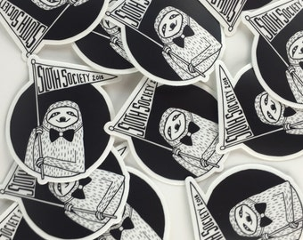 Sloth Society Sticker