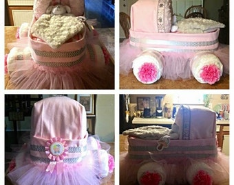 Baby Basinett Diaper Cake