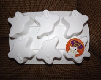 Halloween Silicone Baking Mold 6 Molds GHOSTS
