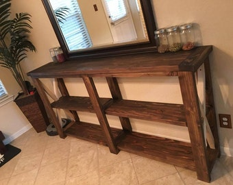 Rustic Kitchen Console