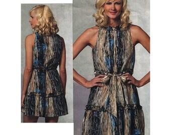 Vogue V1153 Sewing Pattern Misses' Misses' Petite Dress  Size:  AAX  4-6-8-10  Uncut