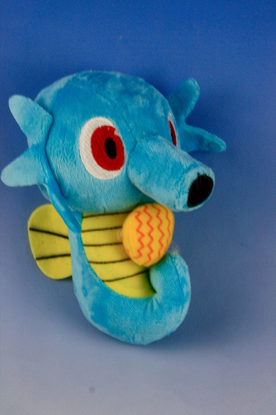 Horsea Plush Doll Pokemon / Pocket Monster by ...