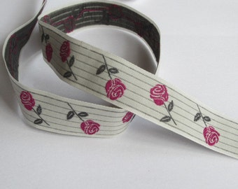La rose - light grey/BlackBerry/Grey Ribbon