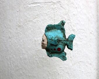 Mobile sculpture. Fish woman
